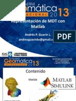Representación de MDT Con Matlab
