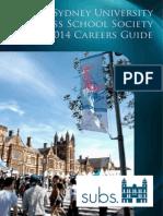 2014 Careers Guide - Online Spread