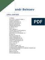 Aleksandr Romanovici Beleaev - Omul Amfibie v1.0