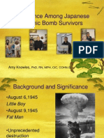 Resilience Among Japanese Atomic Survivors