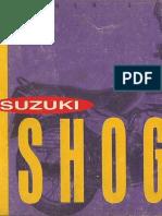 TVS-Suzuki Shogun Owner's Manual