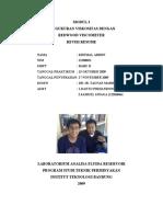 Resume Praktikum Modul 3 - TM2108 Fluida Reservoir