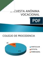 Encuesta Anónima Vocacional(Resultados) - 63S - Aponte Arenas, Renzo Arnold