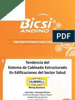 BICSI ANDINO 2014 - Presentacion Carlos Buznego - Hubbell - Hospitalaria
