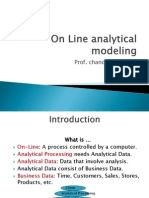 On Line Analytical Modeling