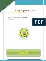 Modul Mentoring Agama Islam