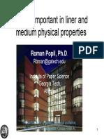 Importent Paper Properties