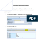 Steps to Copy IDOC From One SAP System to Other SAP System2