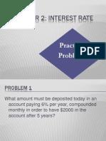 Chapter 2 - Practice Problem - Part 1