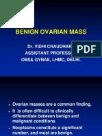 Benign Ovarian Mass