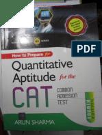 Quantitative Aptitude for CAT Arun Sharma