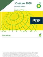 BP Energy Outlook 2030 North America