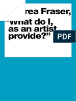 Andrea Fraser -  What Do I As an Artist Provide?.pdf