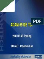 Adam 5510 Tcp