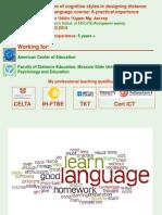 Uddin_Presentation_Cognitive Styles in De
