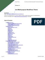 Pinpoint - Responsive Multi-purpose WordPress Theme Documentation