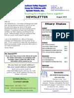 gvsgcsn newsletter august 2014