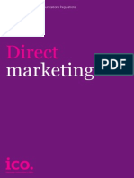 ICO Direct Marketing Guidance