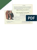 Contoh Format Undangan Batak