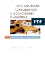 Analisis de Estados Financieros - Metodo Analitico