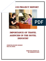 Importance of Travel Agencies in the Hotel Industry in India