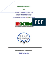 FOREIGN EXCHANGE POLICY OF  EXPORT IMPORT BANK OF
