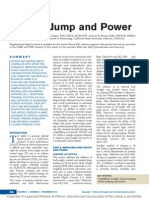 Vertical Jump and Power