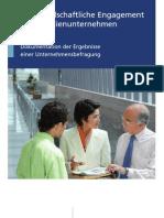 Das gesellschaftliche Engagement von Familienunternehmen (Bertelsmannstiftung 2007)