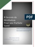 _Les 4 secrets pour une parfaite sant€¢Ã©