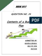 Business Plan -Script
