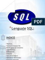 Unidad Vii - SQL