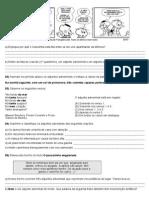 Adjunto Adnominal e Adjunto Adverbial