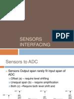 Sensors Interfacing