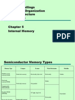 Chapter 5 - Internal Memory