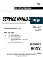 Sony KDL-32EX523 Service Manual