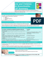2194 Bronchiolitis - Guideline Highlights for GPs