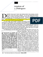 KAHN - A New Interpretation of Plato s Socratic Dialogue