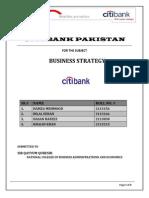 Final Citi Bank