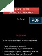 Diagnostic Research, Sept 2013