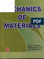 Mechanics of materials by Bc Punia