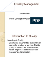 Total Quality Management Unit I GE2022