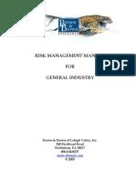 Risk ManagementGeneral Industry