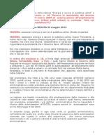 Discarica Mazzara 2012 Cannova Tar Catania Cittadini Contro Tirrenoambiente s