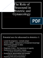 Ultrasound in Gynecology n Obstetric