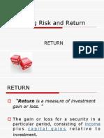 5. Return vs. Risk
