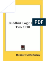 Stcherbatsky, Th[1]. F. - Buddhist Logic. Vol. II