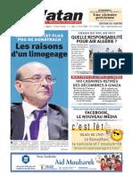 El Watan 27.07.2014 - Parti Pris FIFA p.27