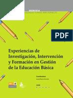 Experiencias de investigacion, intervencion y formacion en gestion de la EB - Rivero.pdf