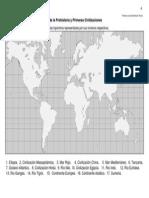 Mapa de Prehistoria y Civilizaciones