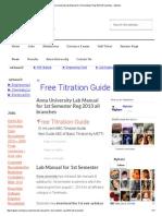 Anna University Lab Manual for 1st Semester Reg 2013 All Branches - MyKalvi